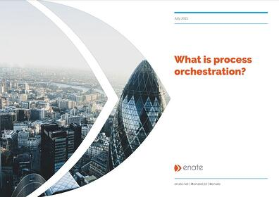 Process orchestration for GBS