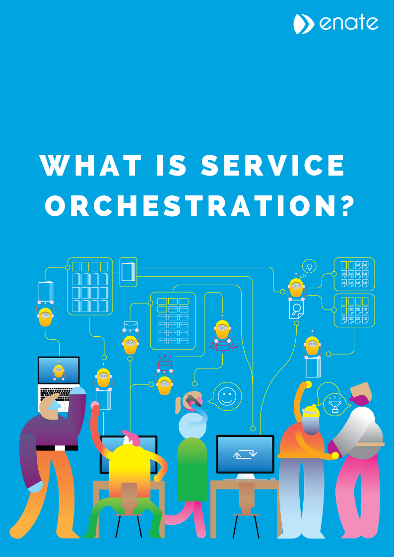 What is service orchestration_