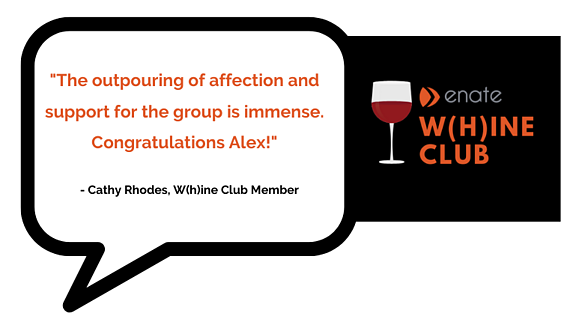 Whine Club Testimonial Canva